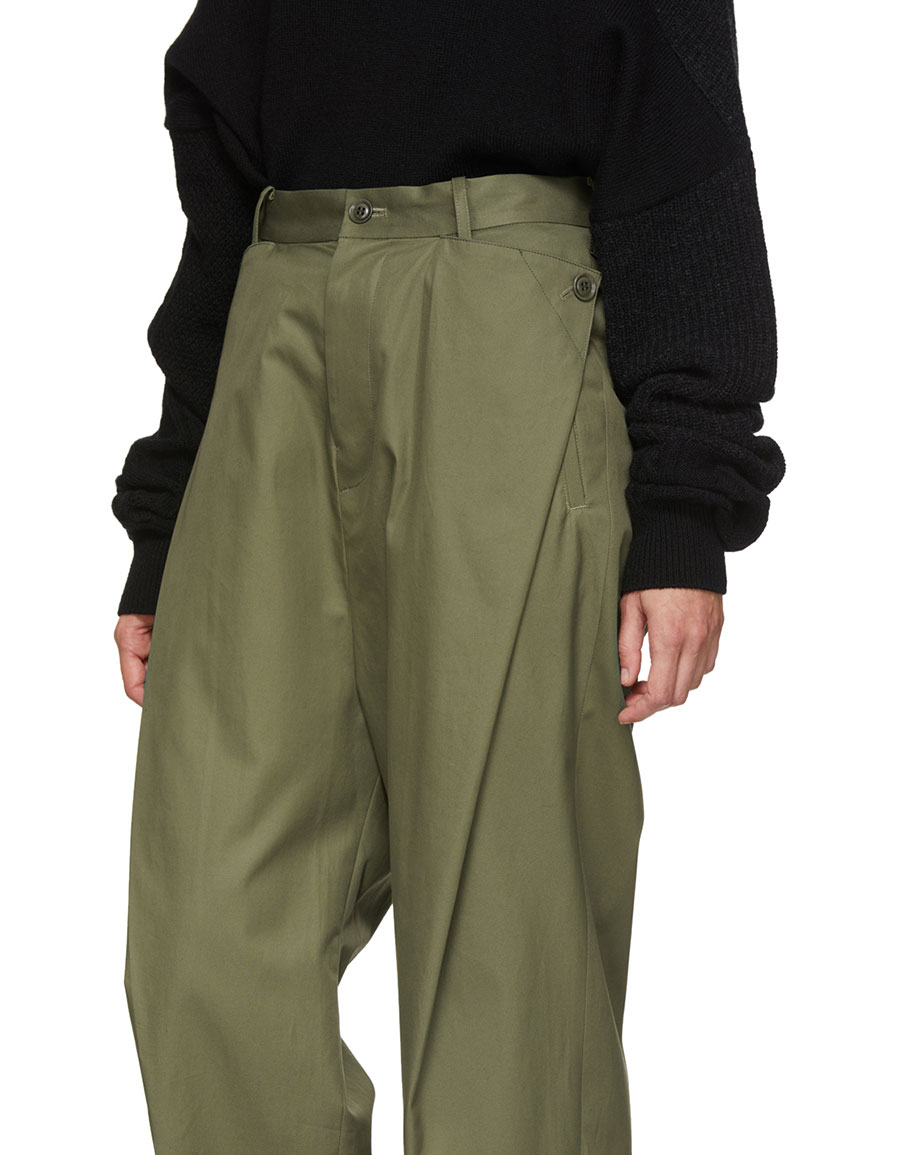 Y'S Khaki Sarouel Pants