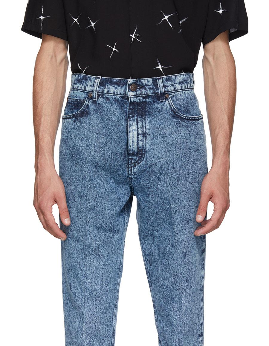 STELLA MCCARTNEY Blue Denzel Jeans