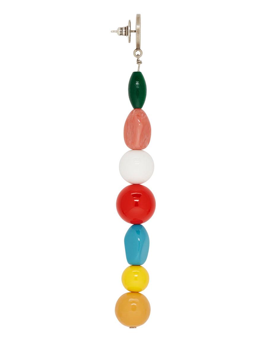 JACQUEMUS Multicolor 'Les Perles' Earrings