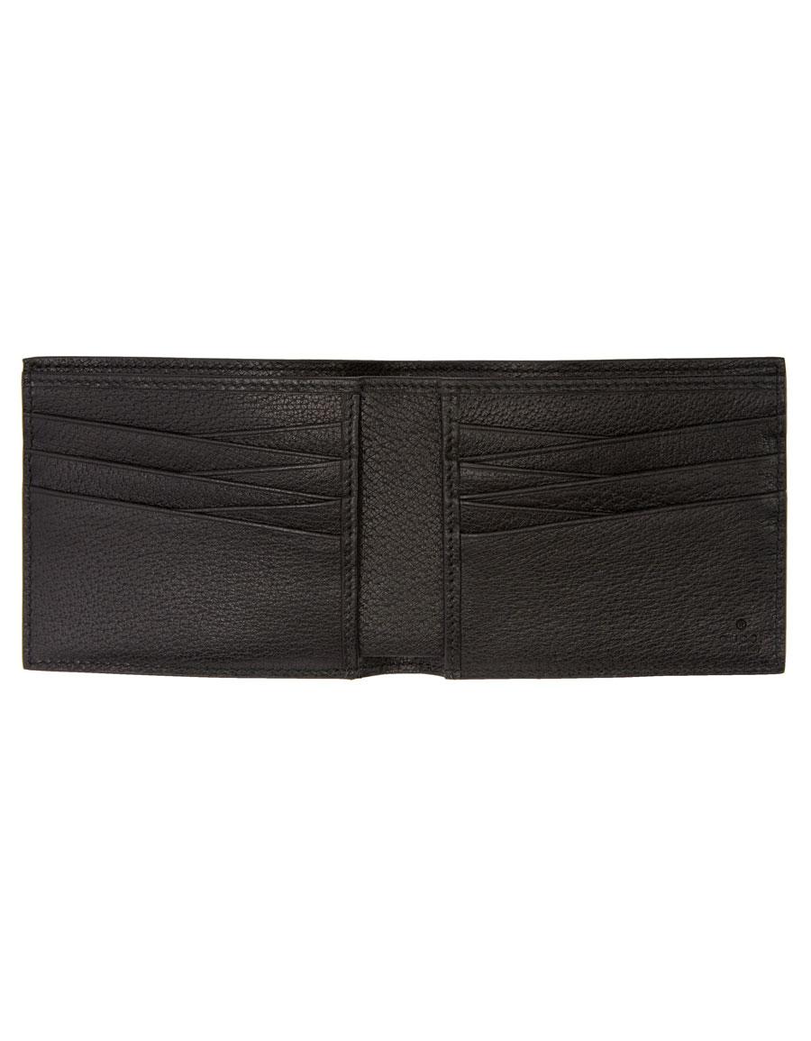 GUCCI Black Logo Band Wallet