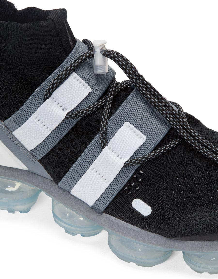 NIKE Black Vapormax FK Utility Sneakers
