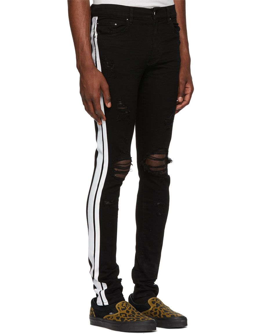 AMIRI Black Track Jeans