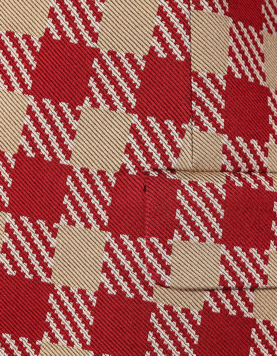 DRIES VAN NOTEN Plaid cotton blazer