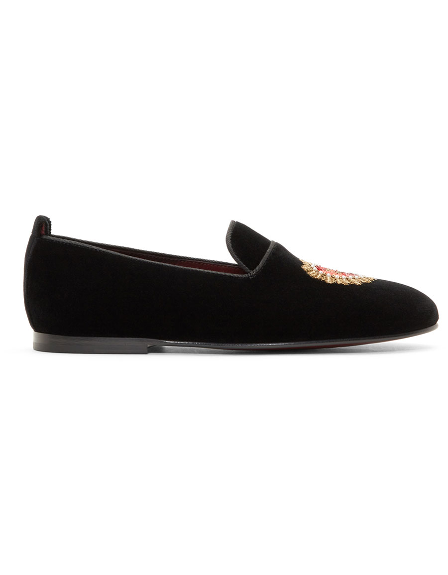 DOLCE & GABBANA Black Young Pope Loafers