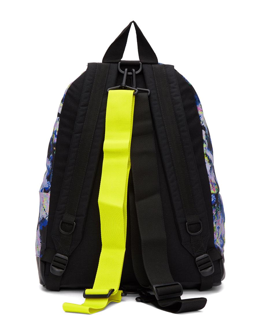MSGM Multicolor Eastpak Edition Flowers Backpack
