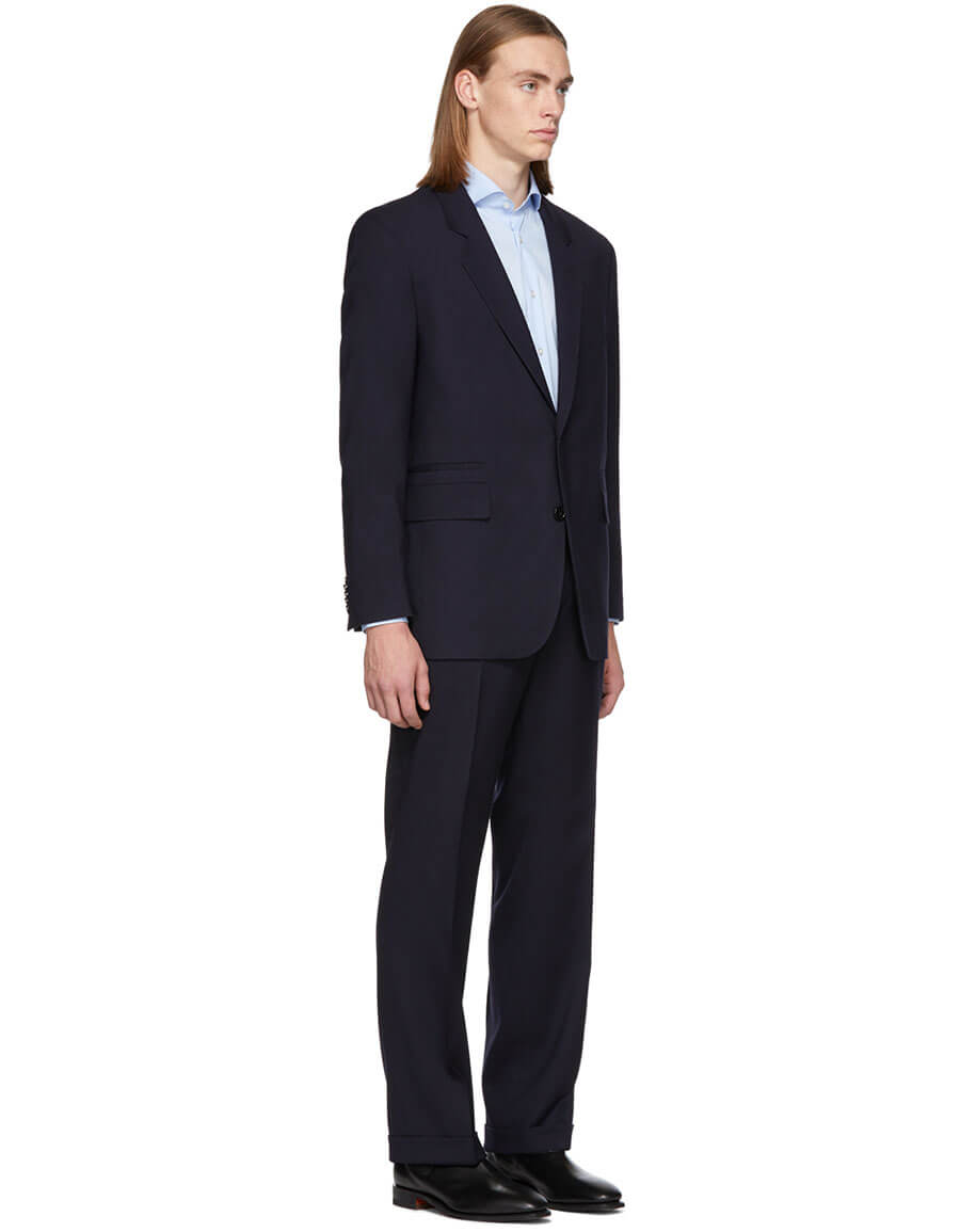 HUGO Navy Umid & Faris Suit