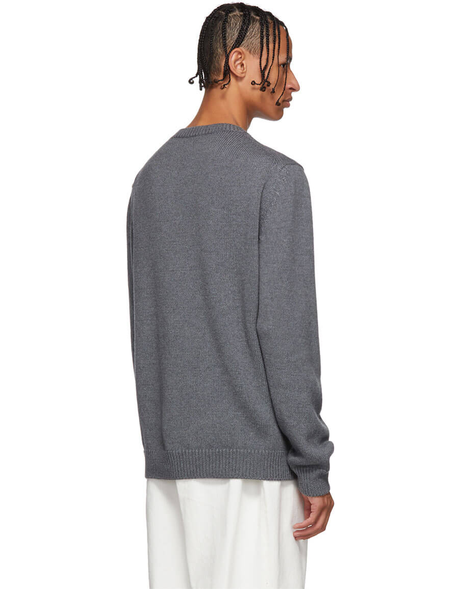 FENDI Grey 'Forever Fendi' Sweater