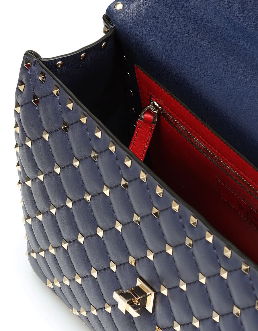 VALENTINO Valentino Garavani Rockstud Spike Large leather shoulder bag
