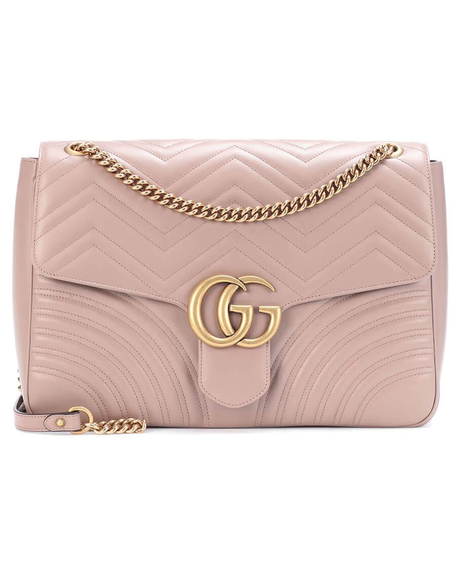 GUCCI GG Marmont Large leather shoulder bag