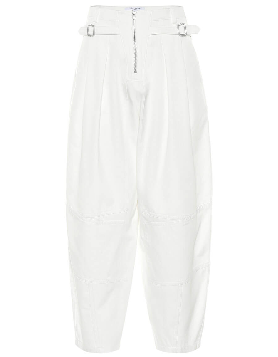 GIVENCHY High waisted cotton pants