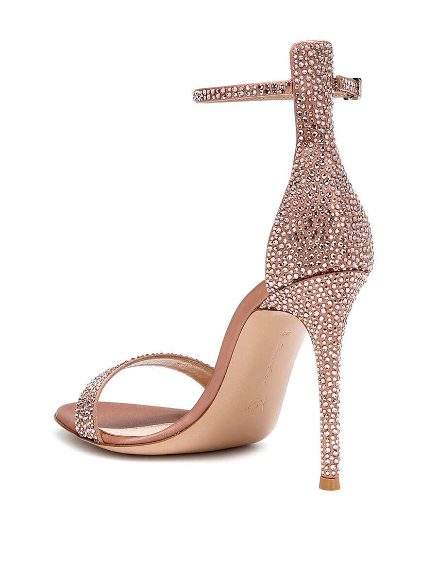 GIANVITO ROSSI Glam crystal embellished sandals