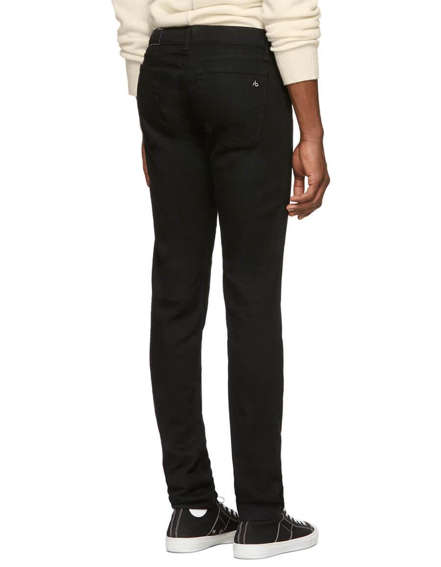 RAG & BONE Black Fit 1 Jeans