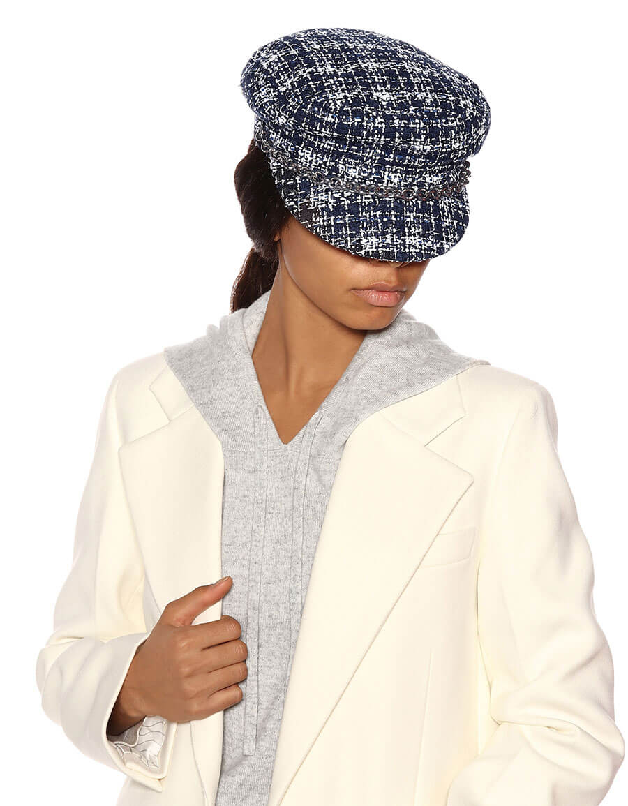 MAISON MICHEL New Abby tweed hat