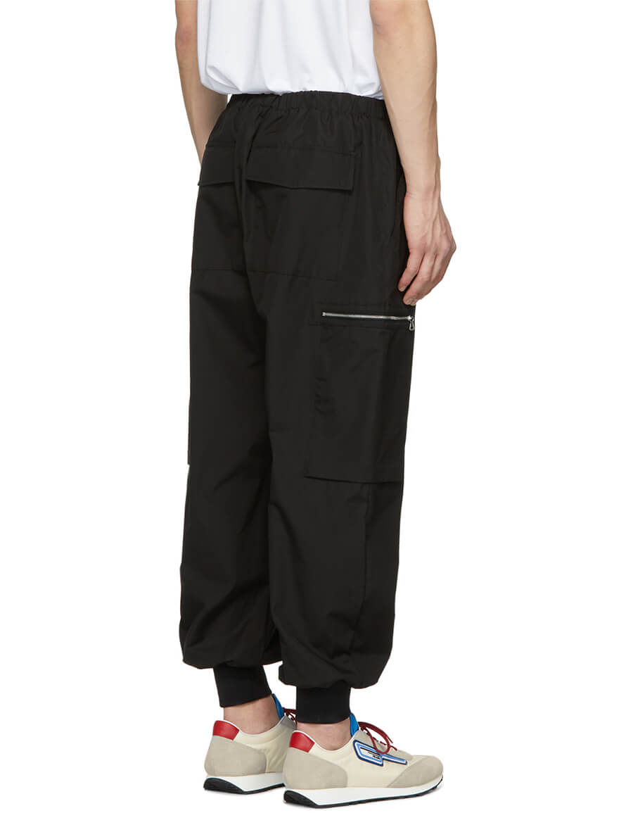 STELLA MCCARTNEY Black Zip Pocket Trousers