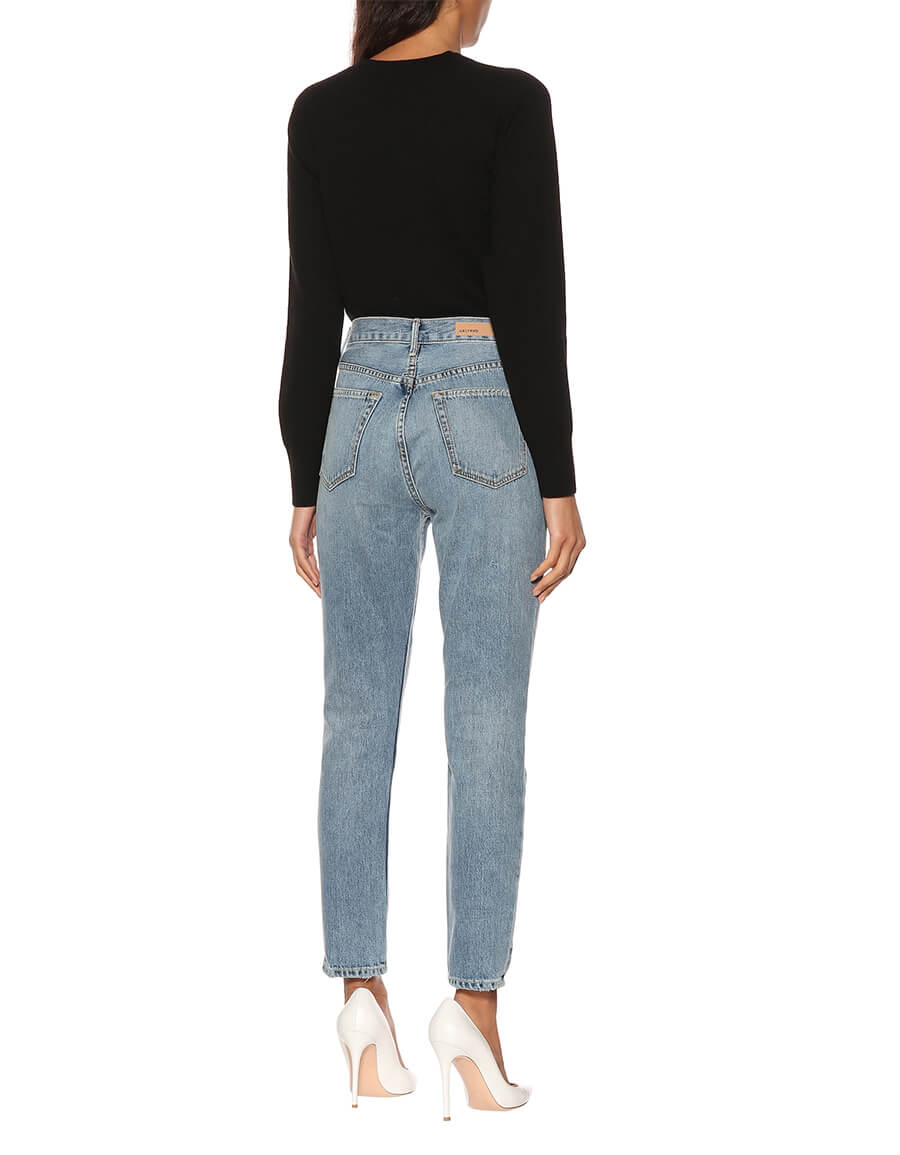 GRLFRND Karolina high rise skinny jeans