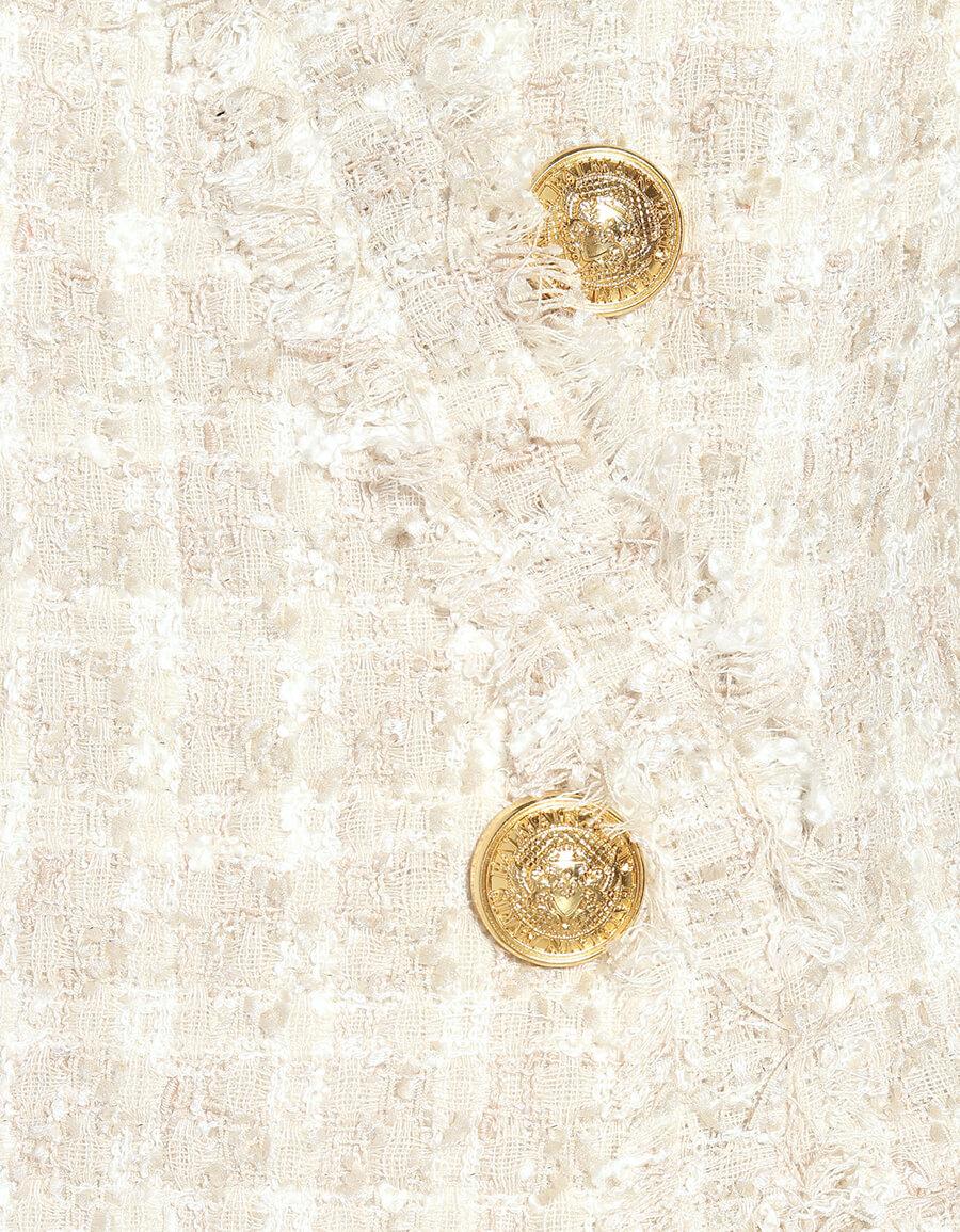 BALMAIN Tweed minidress