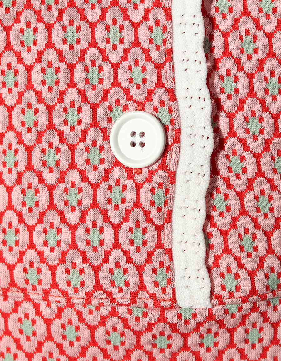 MIU MIU Jacquard knit minidress