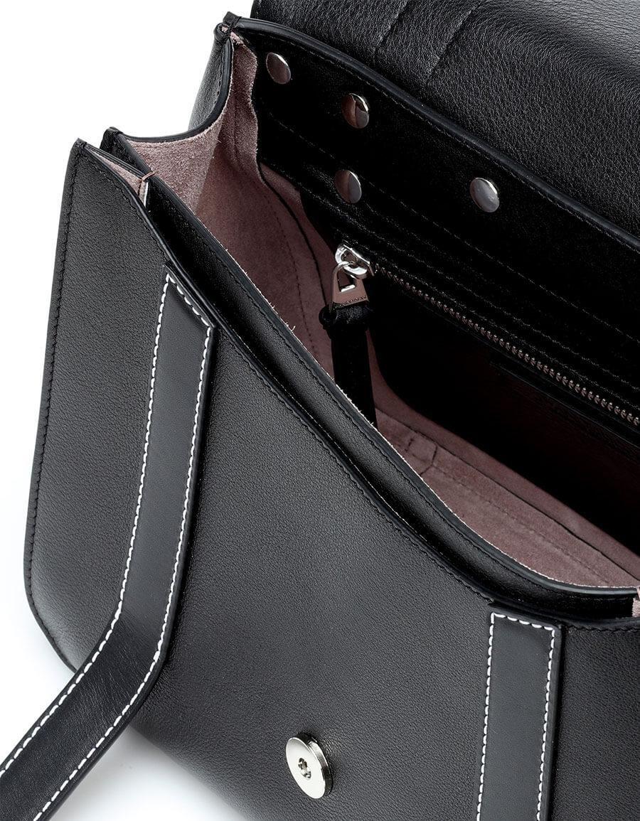 JW ANDERSON Disc Satchel leather shoulder bag