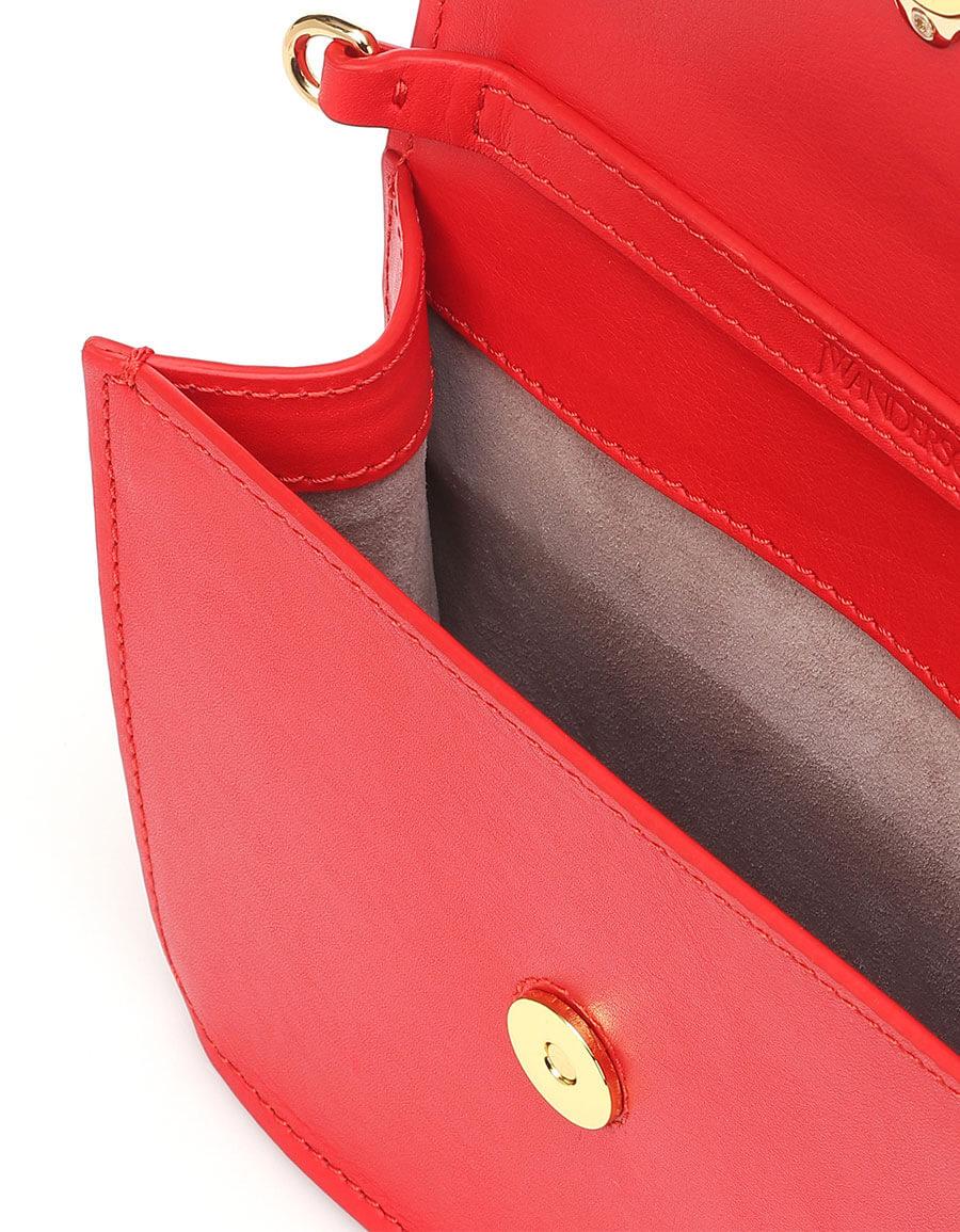 JW ANDERSON Logo leather shoulder bag