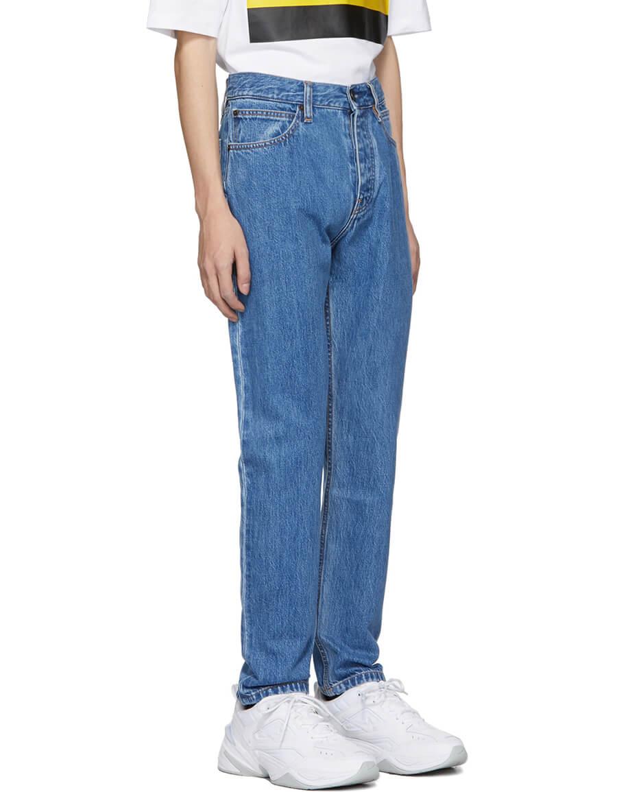 CALVIN KLEIN Blue Narrow Jeans