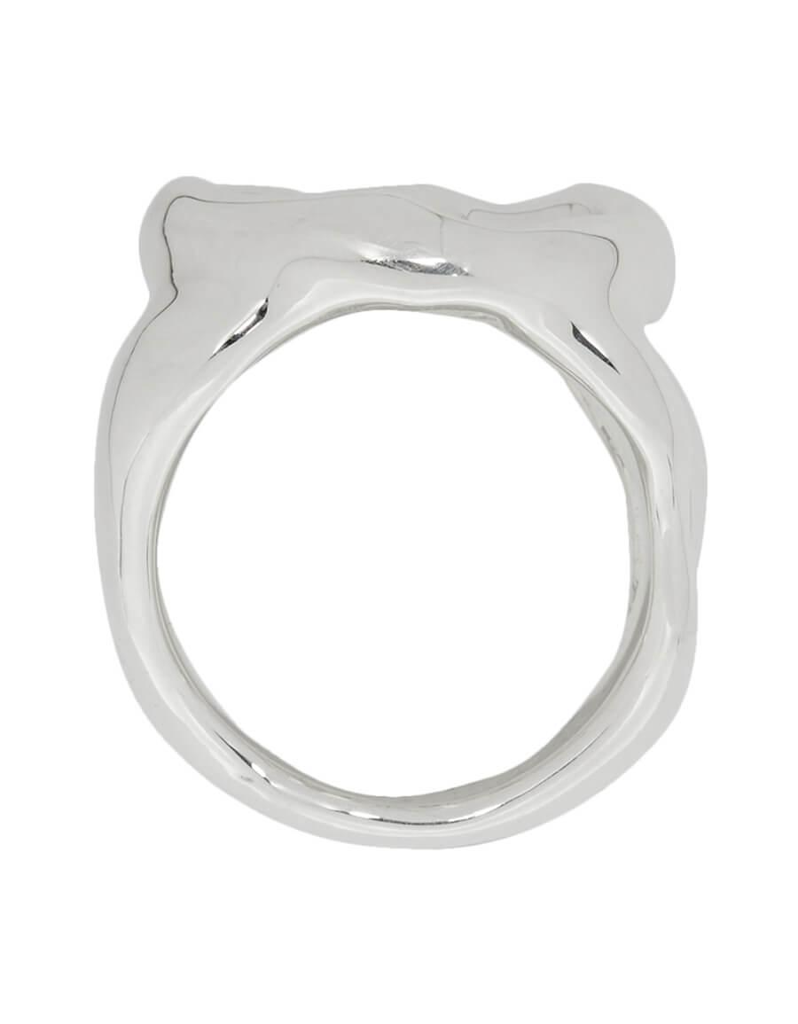 AMBUSH Silver Peace Ring