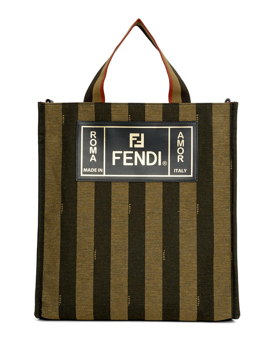 FENDI Brown Market Tote