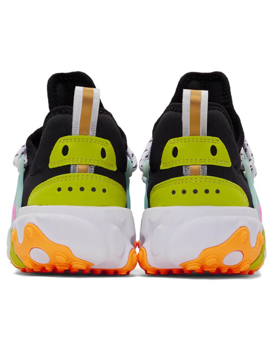 NIKE Black React Presto Sneakers
