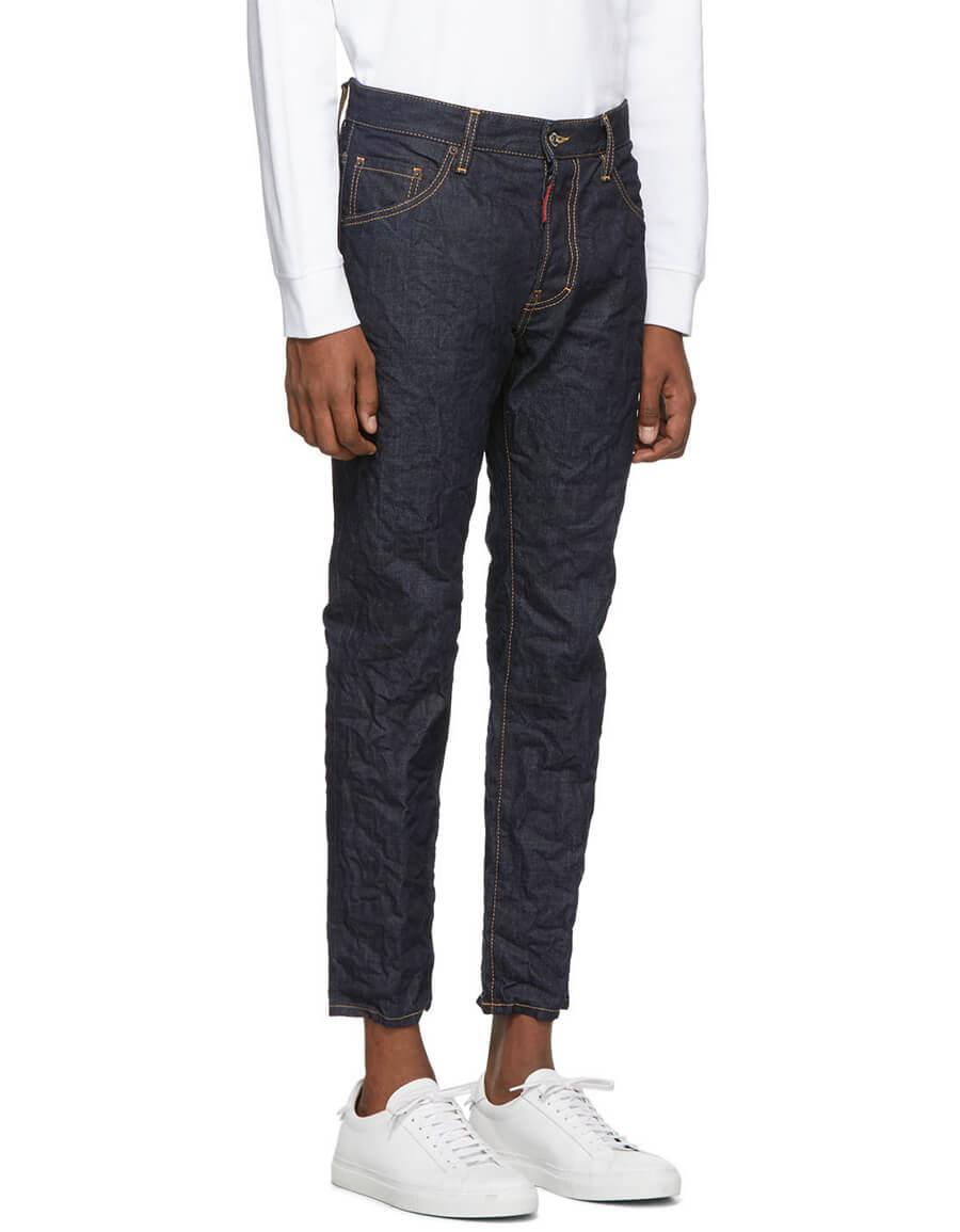 DSQUARED2 Blue Run Dan Jeans