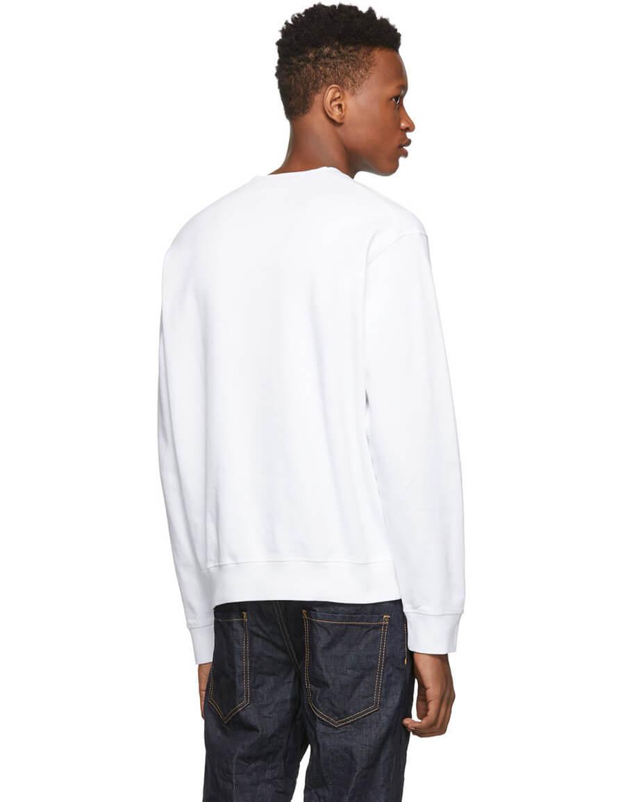 DSQUARED2 White Cool Sweatshirt
