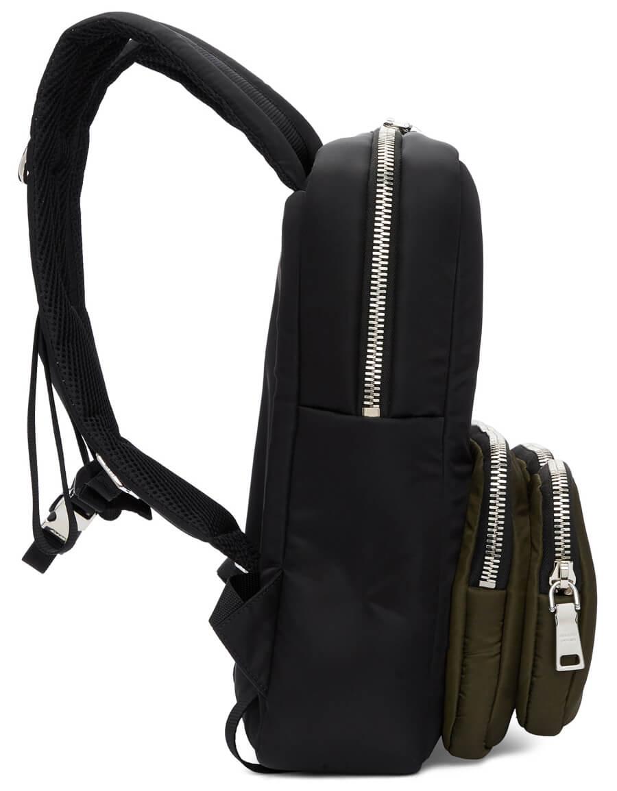 PRADA Black Harness Backpack
