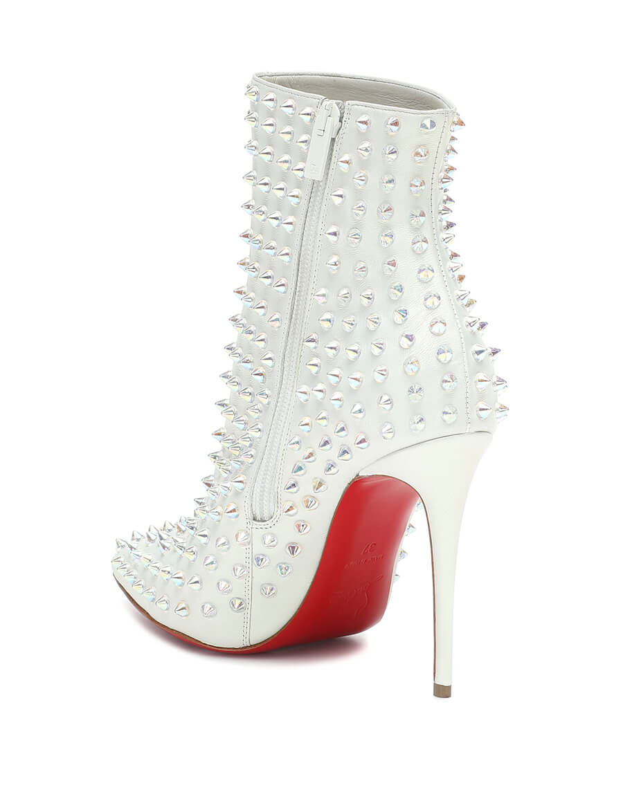 CHRISTIAN LOUBOUTIN Exclusive to Mytheresa – Snakilta 100 leather ankle boots