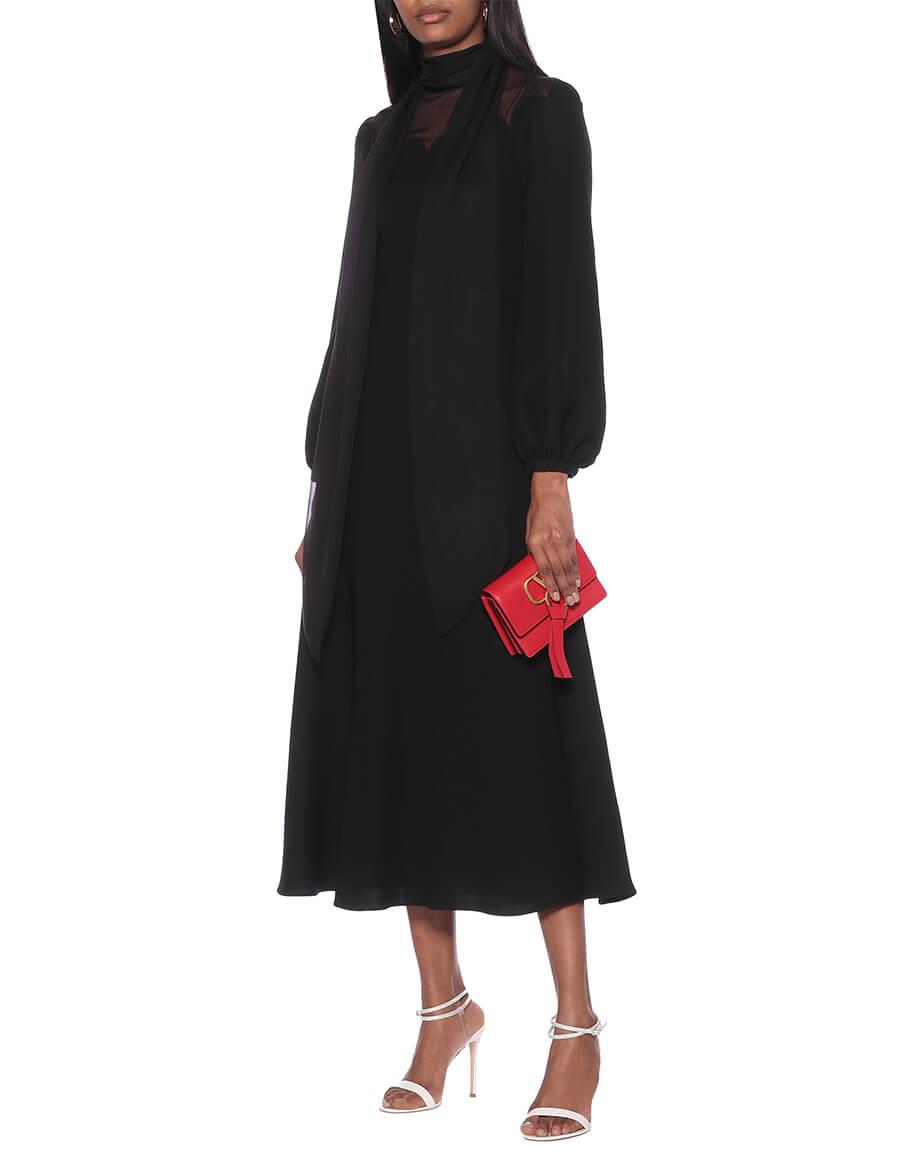 VALENTINO Silk crêpe gown