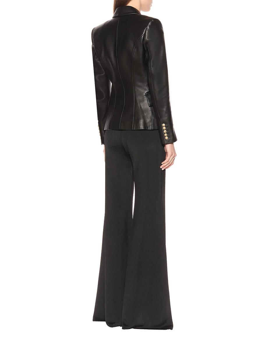 BALMAIN Leather blazer