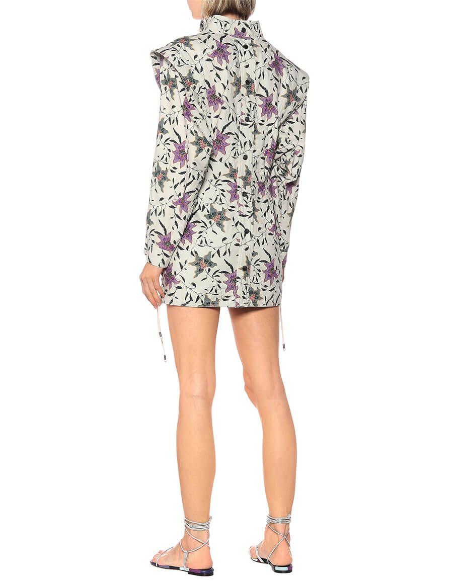 ISABEL MARANT Givens floral cotton minidress