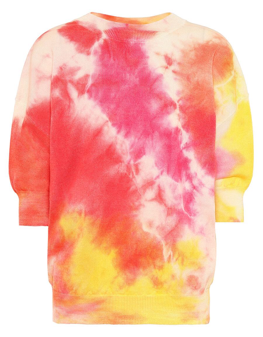 MSGM Tie dye wool sweatshirt