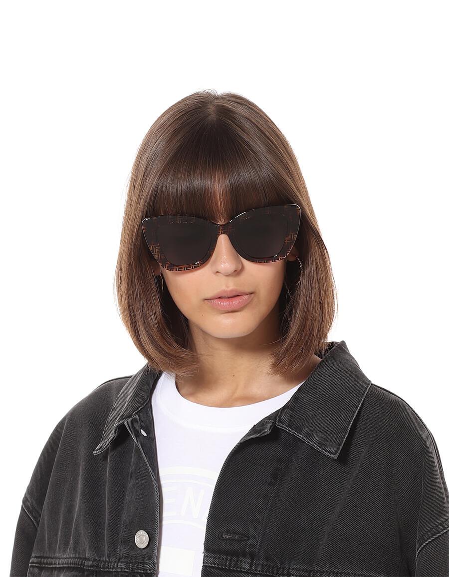 FENDI Havana FF sunglasses