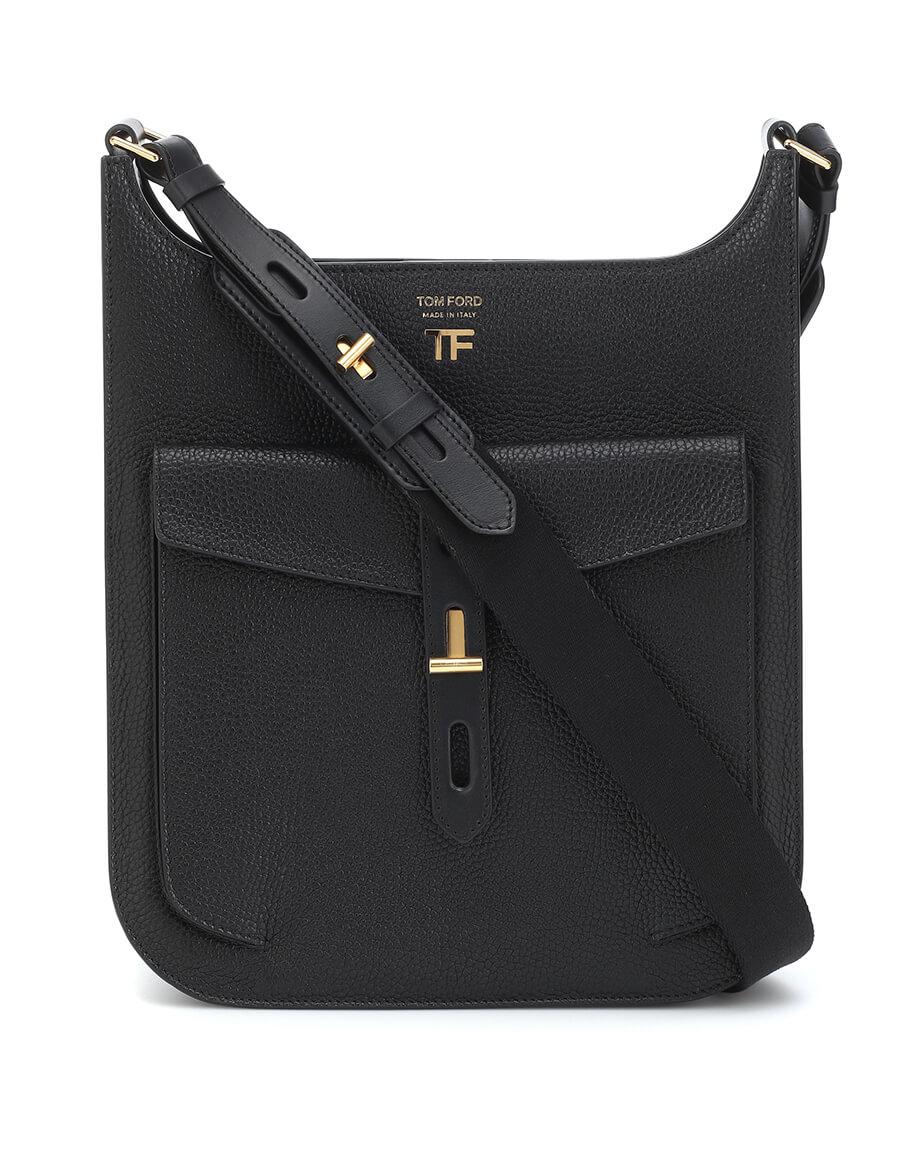 TOM FORD T Twist leather crossbody bag