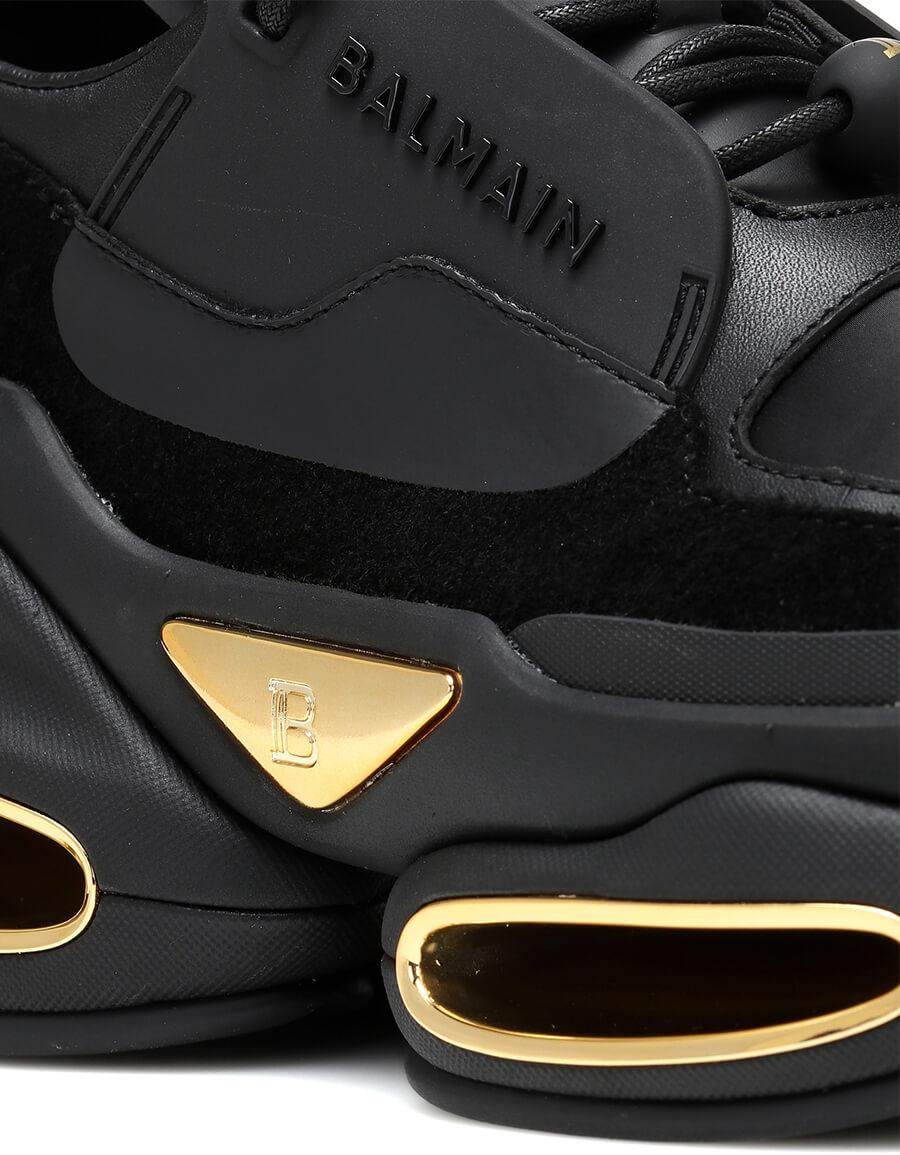 BALMAIN BBold leather sneakers