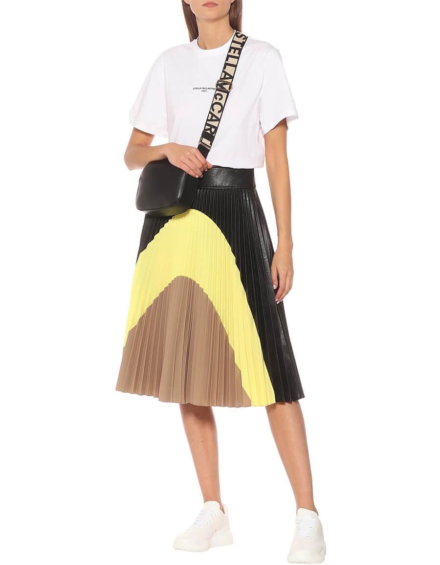 STELLA MCCARTNEY Carmen pleated midi skirt