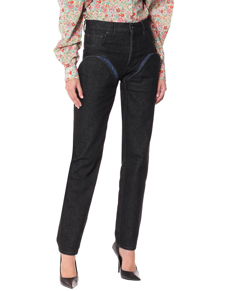 Y/PROJECT High rise straight jeans