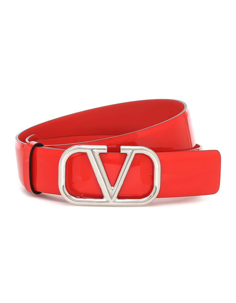 VALENTINO GARAVANI Valentino Garavani VLOGO leather belt