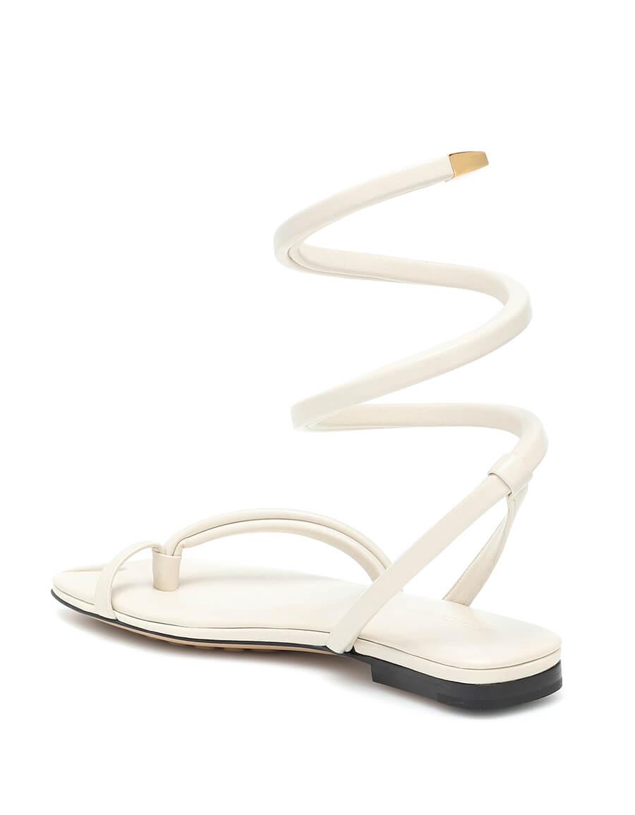 BOTTEGA VENETA BV Spiral thong sandals