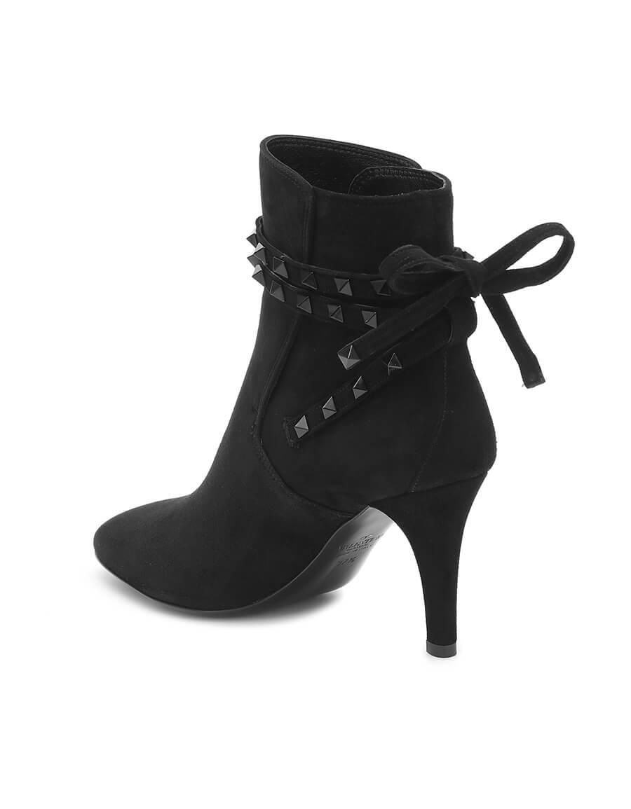 VALENTINO GARAVANI Valentino Garavani Rockstud Flair suede ankle boots