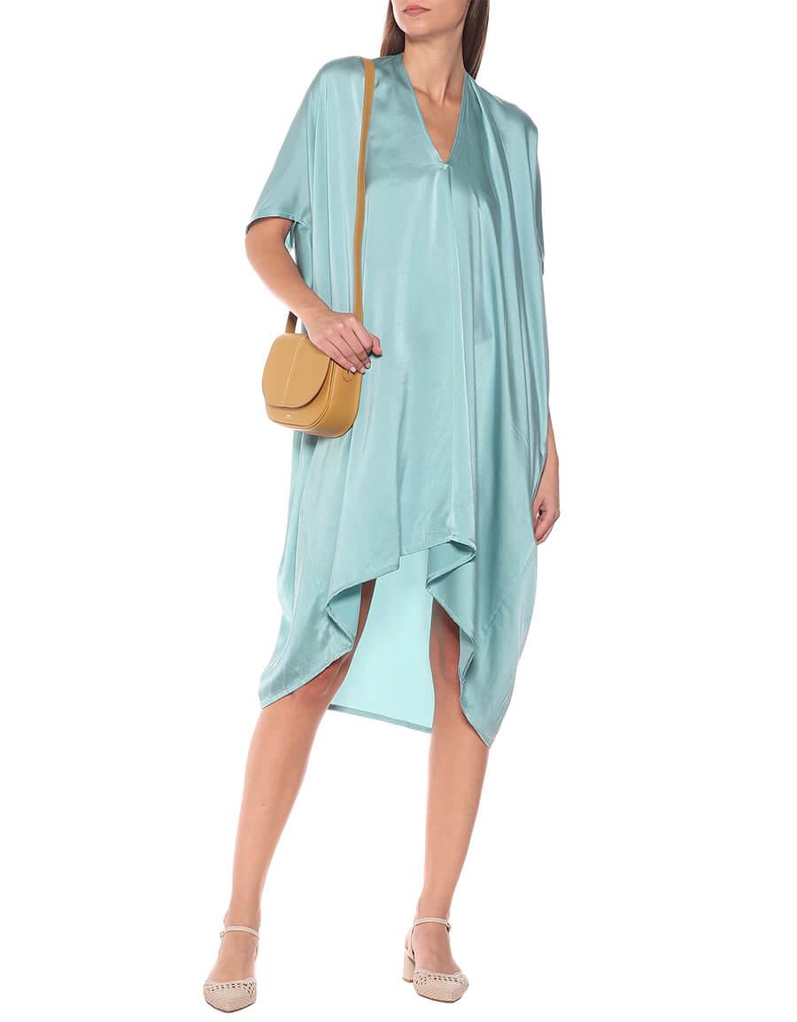 VISVIM Asymmetric silk midi dress