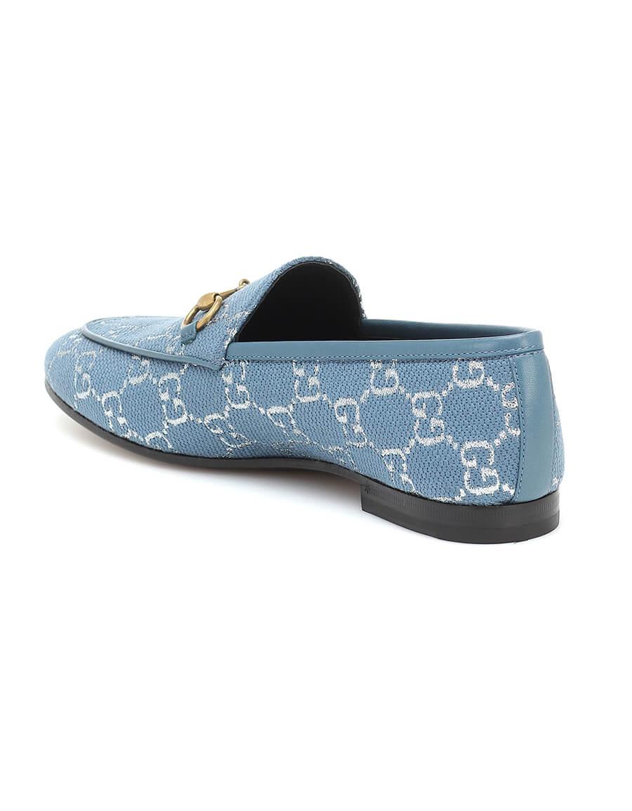 GUCCI Jordaan GG brocade loafers