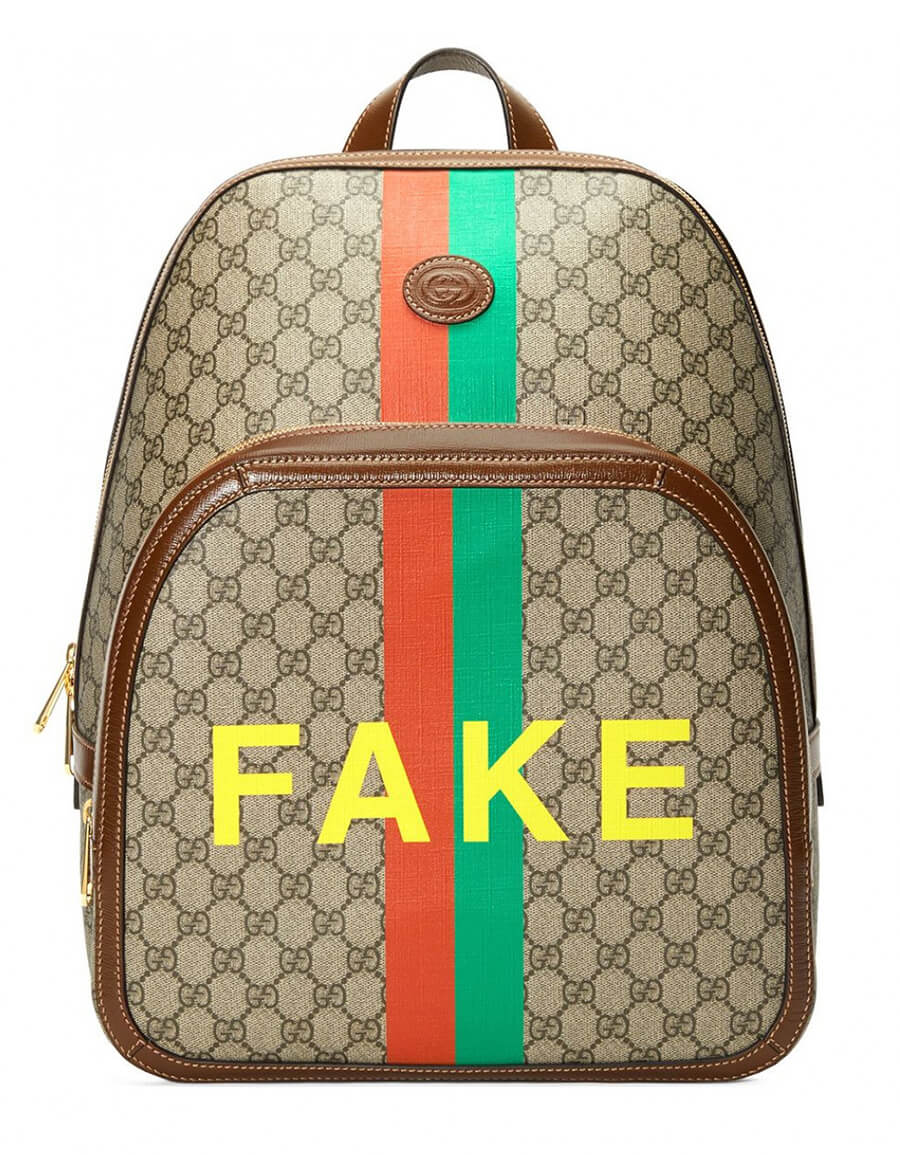 GUCCI FAKE NOT BACKPACK