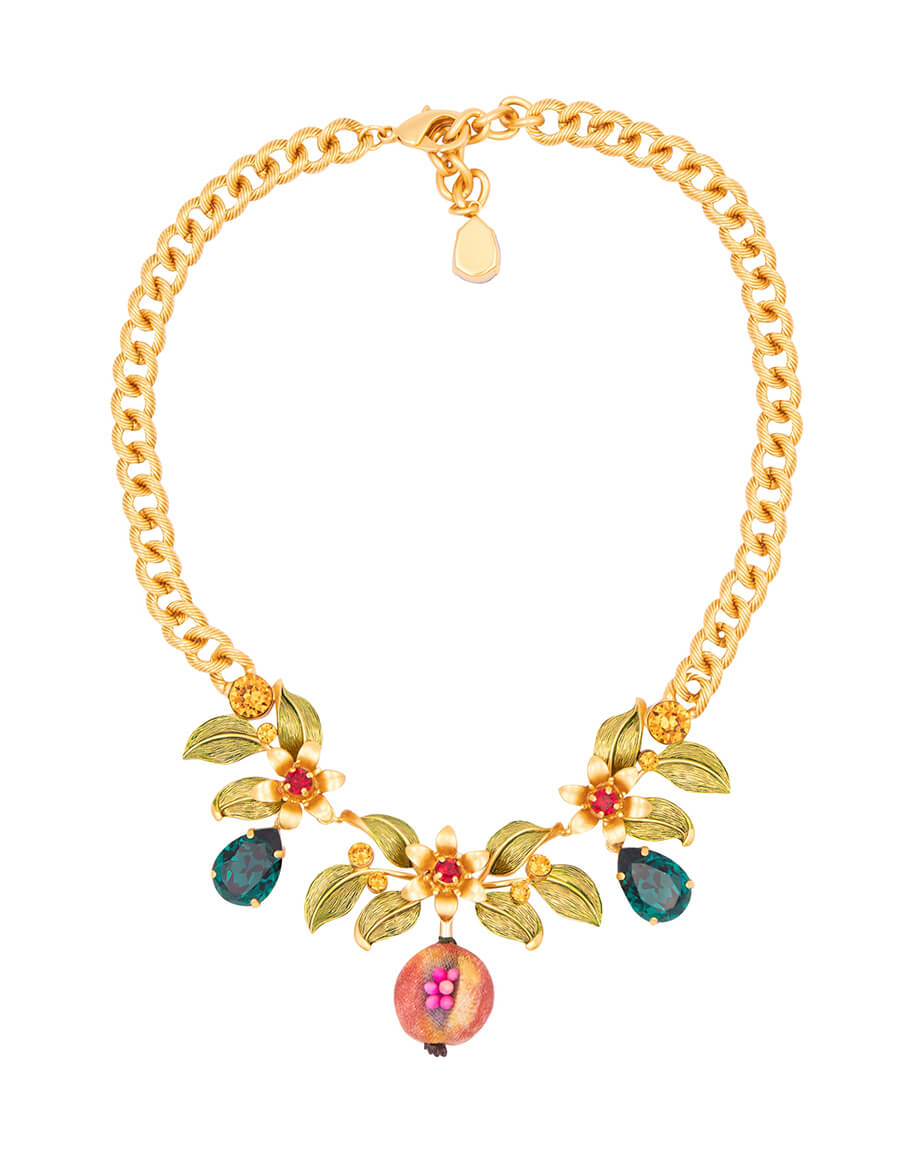 DOLCE & GABBANA Exclusive to Mytheresa – Crystal embellished necklace