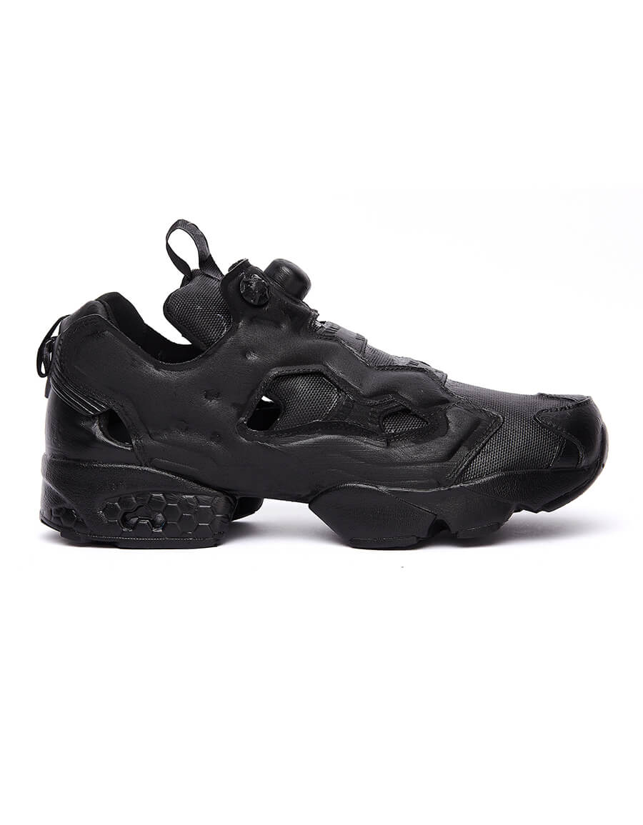 VETEMENTS Black Reebok Instapump Sneakers