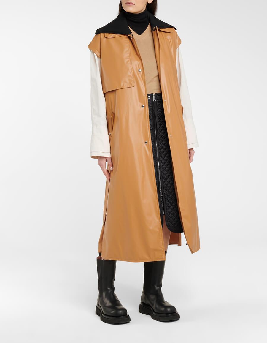 MONCLER GENIUS 2 MONCLER 1952 Coral trench coat