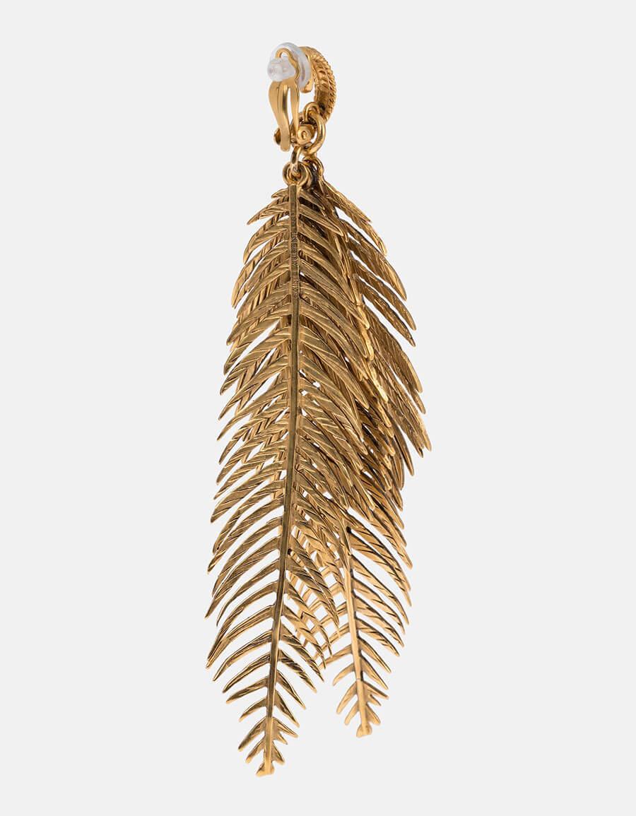 SAINT LAURENT Palm earrings